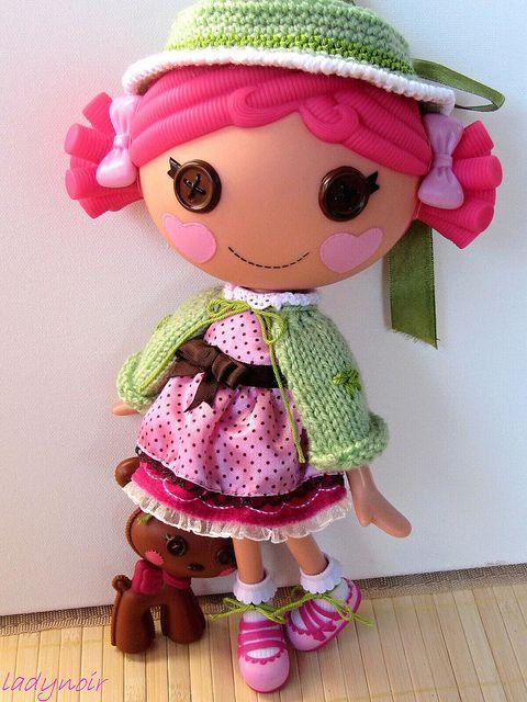 Lalaloopsy Ирис Какао платье на ladynoir63, через Flickr
