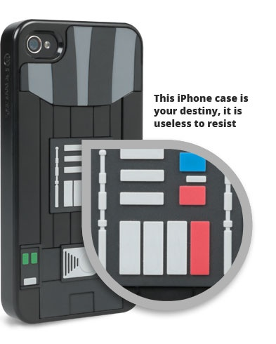 Star Wars Darth Vader Collector Case for iPhone 4/4S