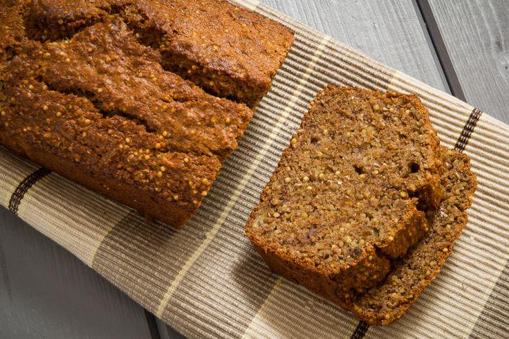 Crackly Banana bread | dessert breads | Pinterest