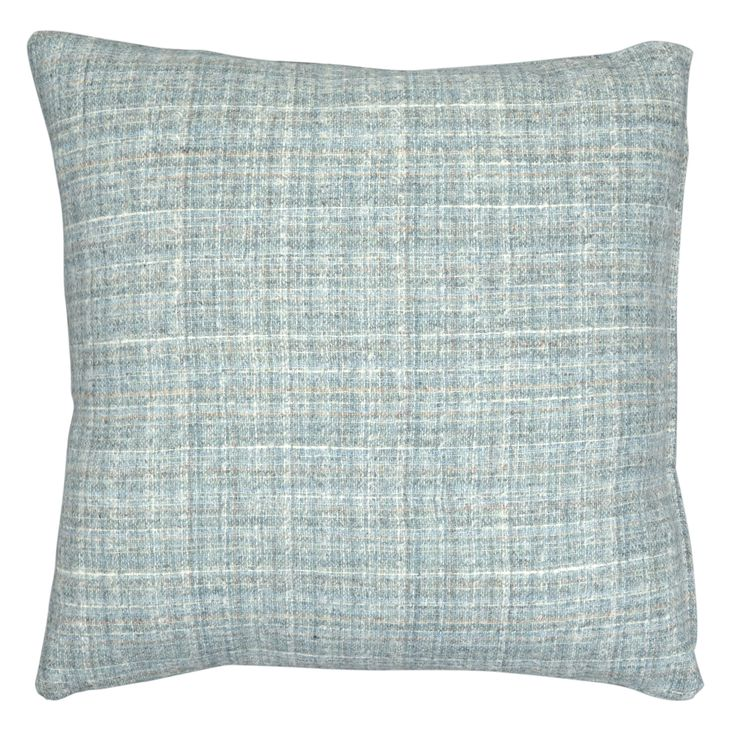 newick duck egg blue check cushion home furnishings. Black Bedroom Furniture Sets. Home Design Ideas