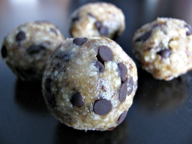 Ingredient Cookie Dough Bites Makes approximately 15 tablespoon ...