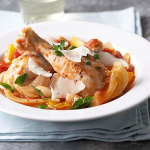 Italian Braised Chicken with Fennel and Cannellini | Recipe