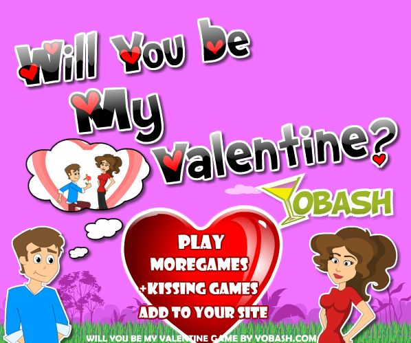 play valentine game online