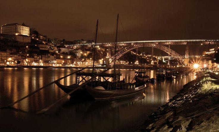 O Porto à noite :)
