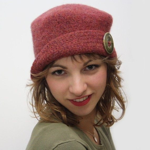 Square Felted Hat - Crochet Pattern knitting and crochet ...