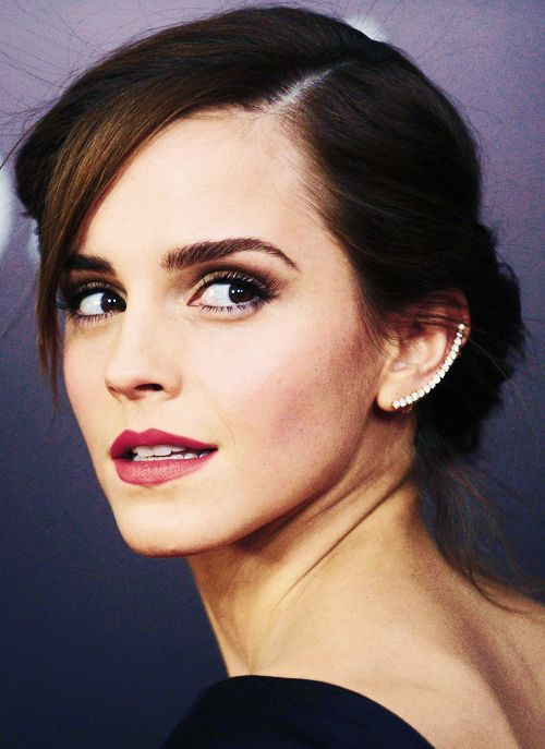 beauty look l emma watson.