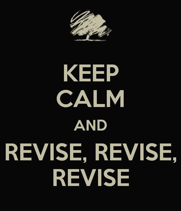 dissertation revising