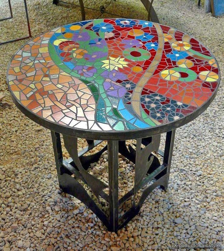 Керамический стол своими руками 87