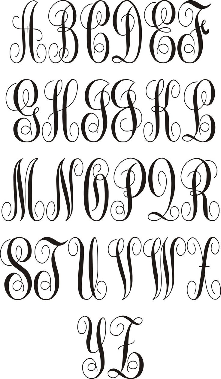 Cool writing fonts easy to draw www galleryhip com the hippest pics