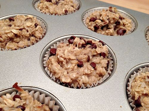 Chocolate Chip Oatmeal Breakfast Bars | Food | Pinterest