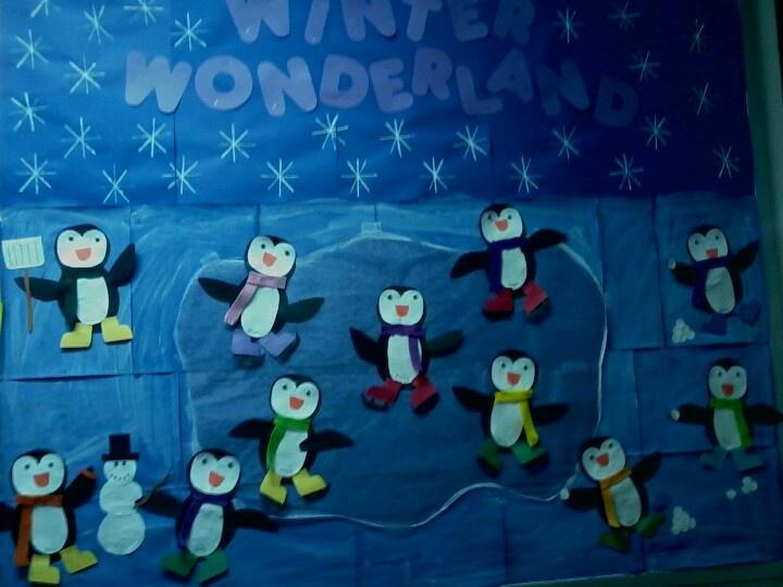 Penguin bulletin board bulletin boards pinterest