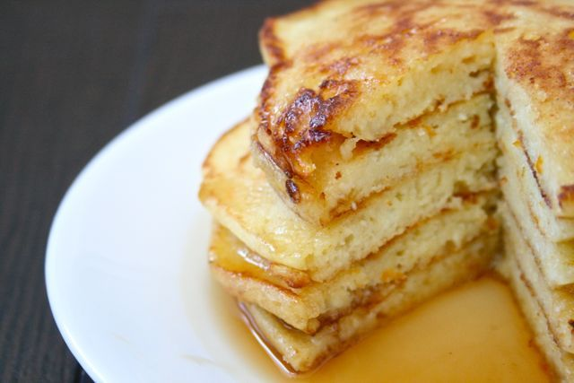 Orange Ricotta Pancakes from @Cindy Dean Get Baked