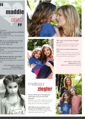 Mackenzie Ziegler Dream Magazine Maddie Ziegler For Kod...