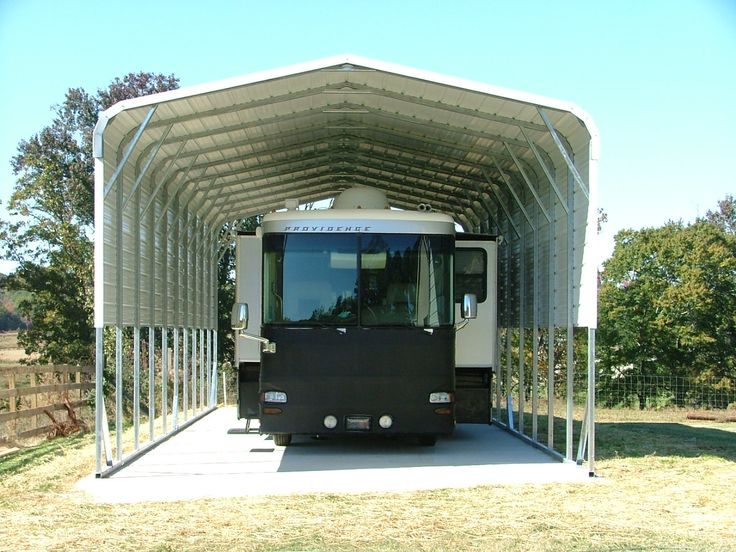 Rc003 Motorhome carport plans