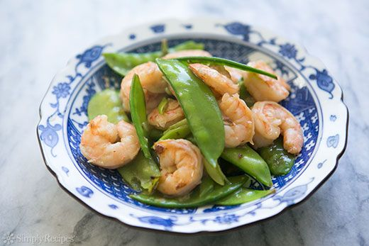 Shrimp with Snow Peas on Simply Recipes - Here's a quick and easy ...