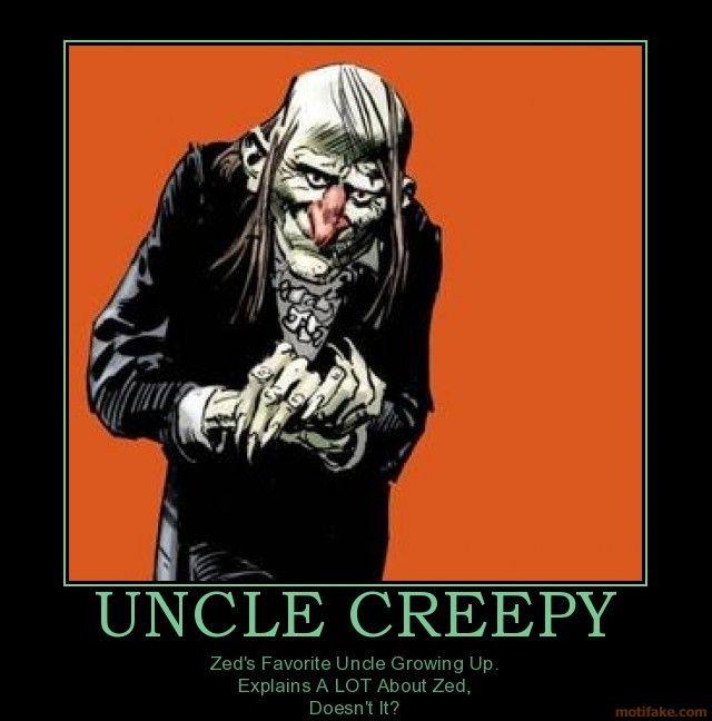 Uncle Creepy Childhood Horror Heroes Pinterest
