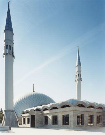 Thánh đường Sakirin do nữ kiến trúc sư Zeynep Fadillioglu thiết kế