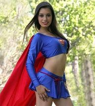blue skirt | Supergirl | Pinterest: pinterest.com/pin/385831893046887543
