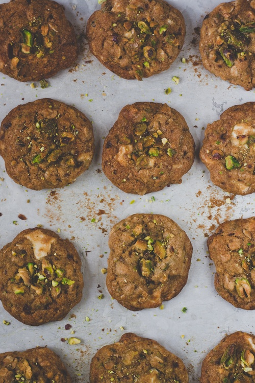 White Chocolate Pistachio Cookies. | Passion Food | Pinterest