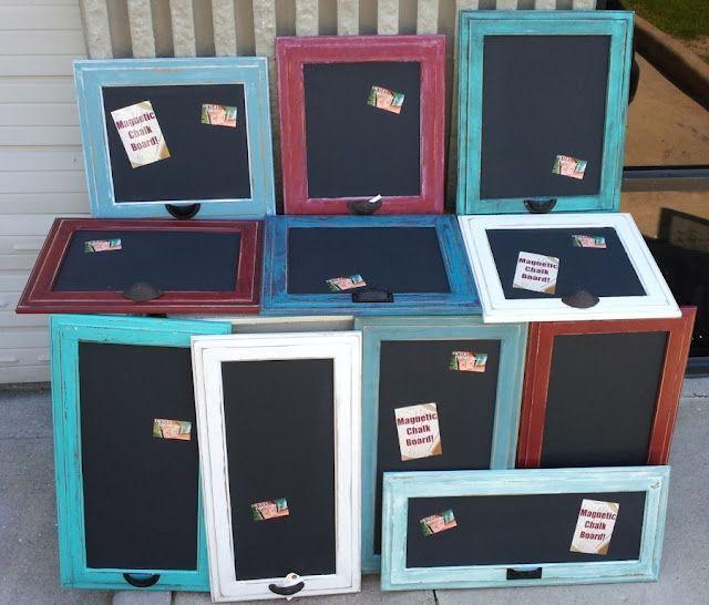 Use Old Cabinet Doors Craft Ideas Pinterest