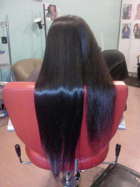 Flat Iron Natural Hair A Dash of Glamour