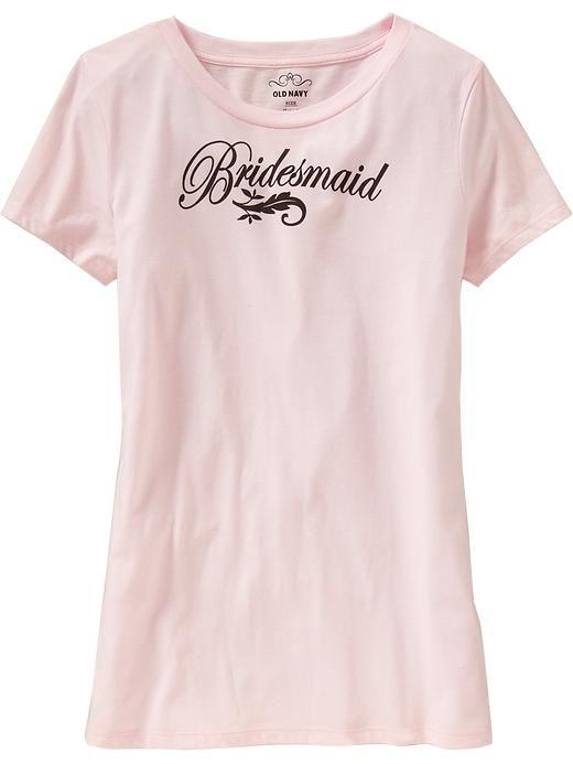 bridesmaid shirts wedding ideas pinterest