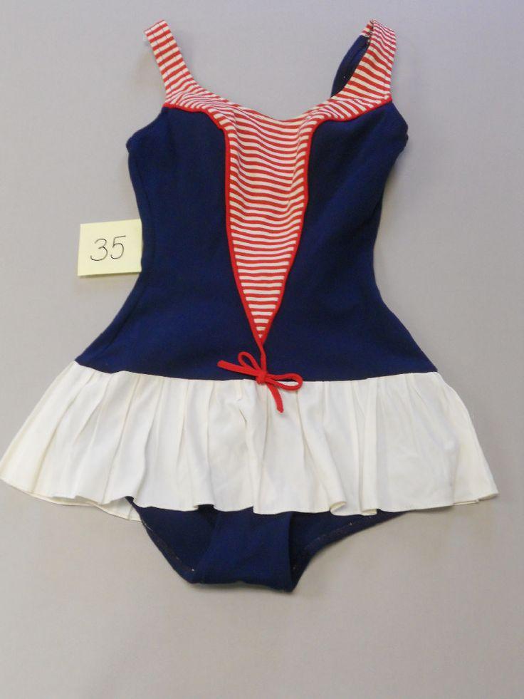 Vintage Bathing Suits My Style Pinterest