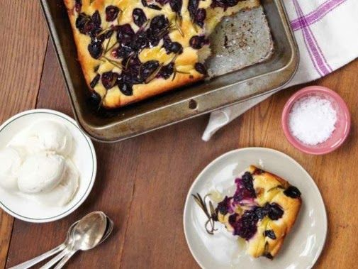 Concord Grape and Rosemary Focaccia | Food, Drink, etc. | Pinterest