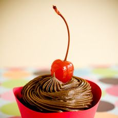 Cherry Coke Cupcakes with Cola Frosting | business ideas | Pinterest