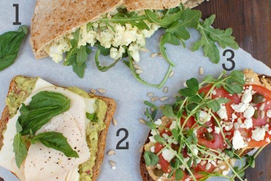 picnic-ready sandwiches | Sandwichs | Pinterest