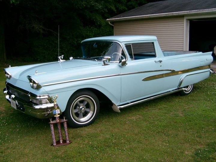 1958 ford ranchero cars motorcycles pickups pinterest. Black Bedroom Furniture Sets. Home Design Ideas