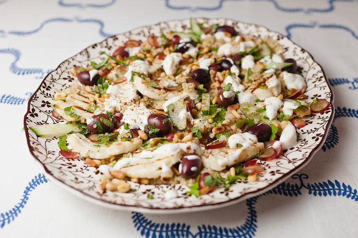 Grilled Halloumi Salad | Food | Pinterest