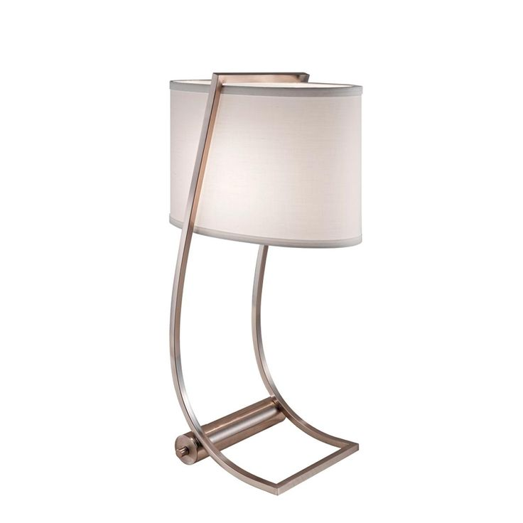 modern bent frame lamp with usb port. Black Bedroom Furniture Sets. Home Design Ideas