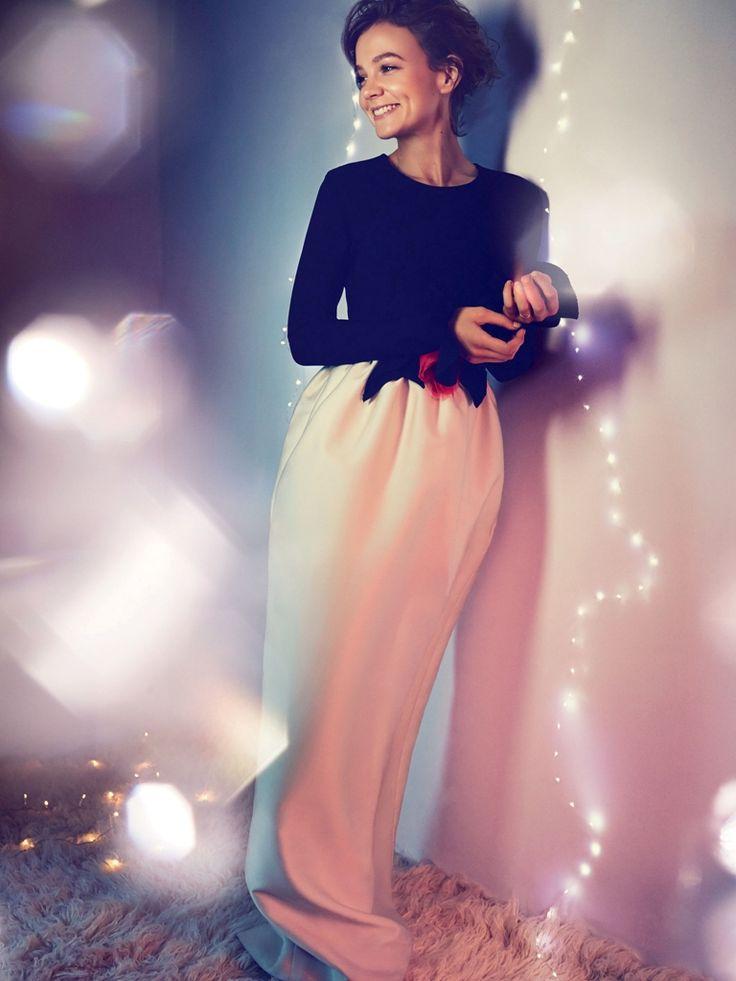 #CareyMulligan by #AlexiLubomirski for #HarpersBazaarUK December 2014