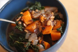 Tempeh Stew with Sweet Potatoes and Kale -This is the vegetarian ...