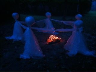 halloween ghosts for your yard
