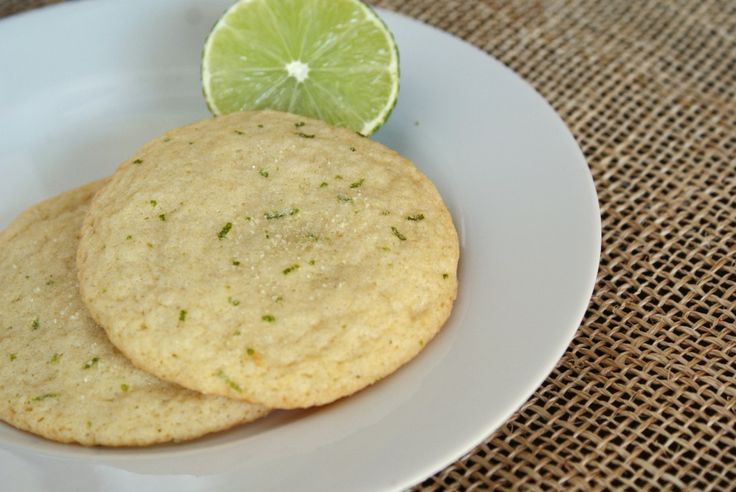 Lime sugar cookies. Just sounded good & I'm a sucker for green stuff.