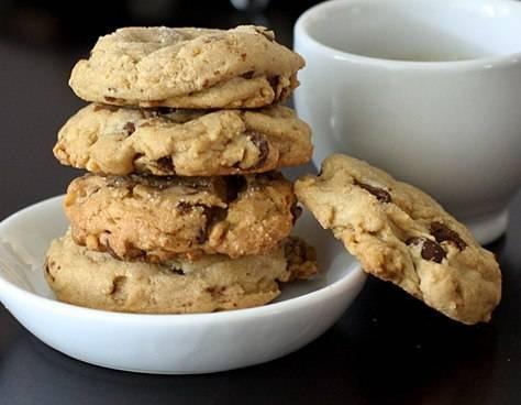 chocolate chip walnut cookies | Cookies | Pinterest