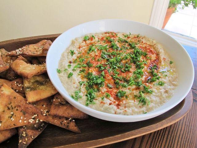 Baba Ghanoush With Roasted Garlic Recipes — Dishmaps