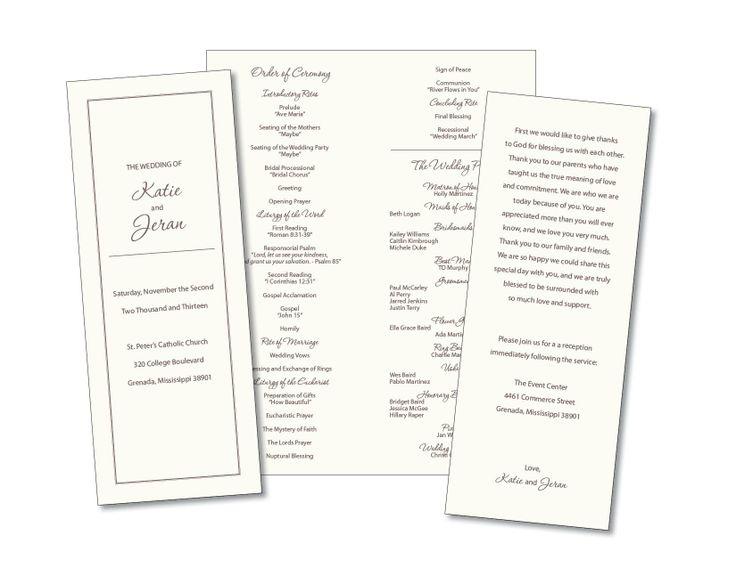 Catholic Wedding Invitations with best invitations template