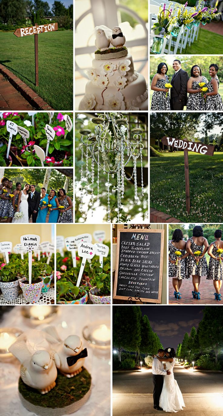 Summer Garden Wedding Theme Ideas : Real summer garden wedding inspiration weddingwire the
