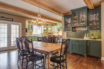 Kitchen Remodel - B - traditional - dining room - st louis - Lorrien