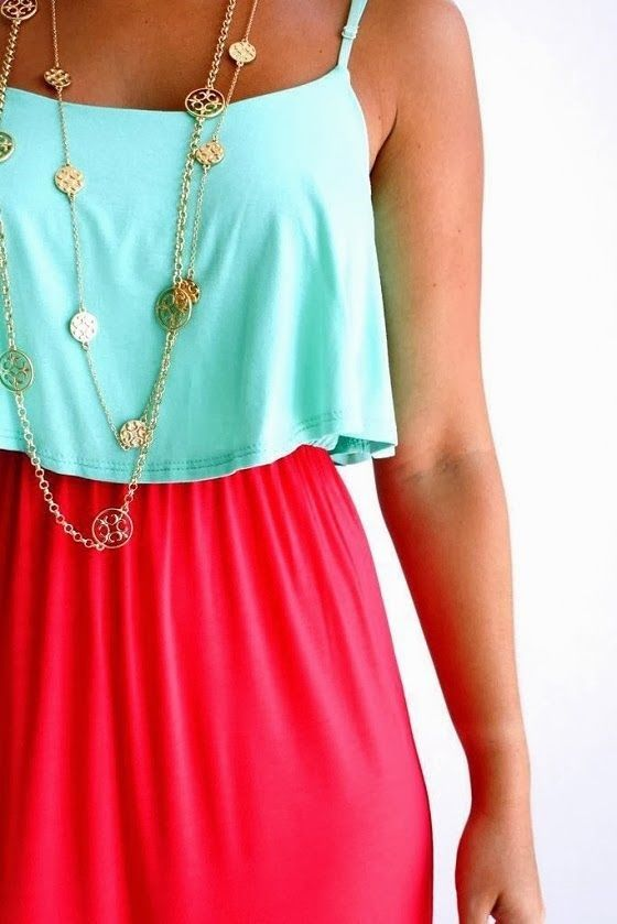 leather bracelet with charms Mint Blouse With Maxi Skirt  My Style
