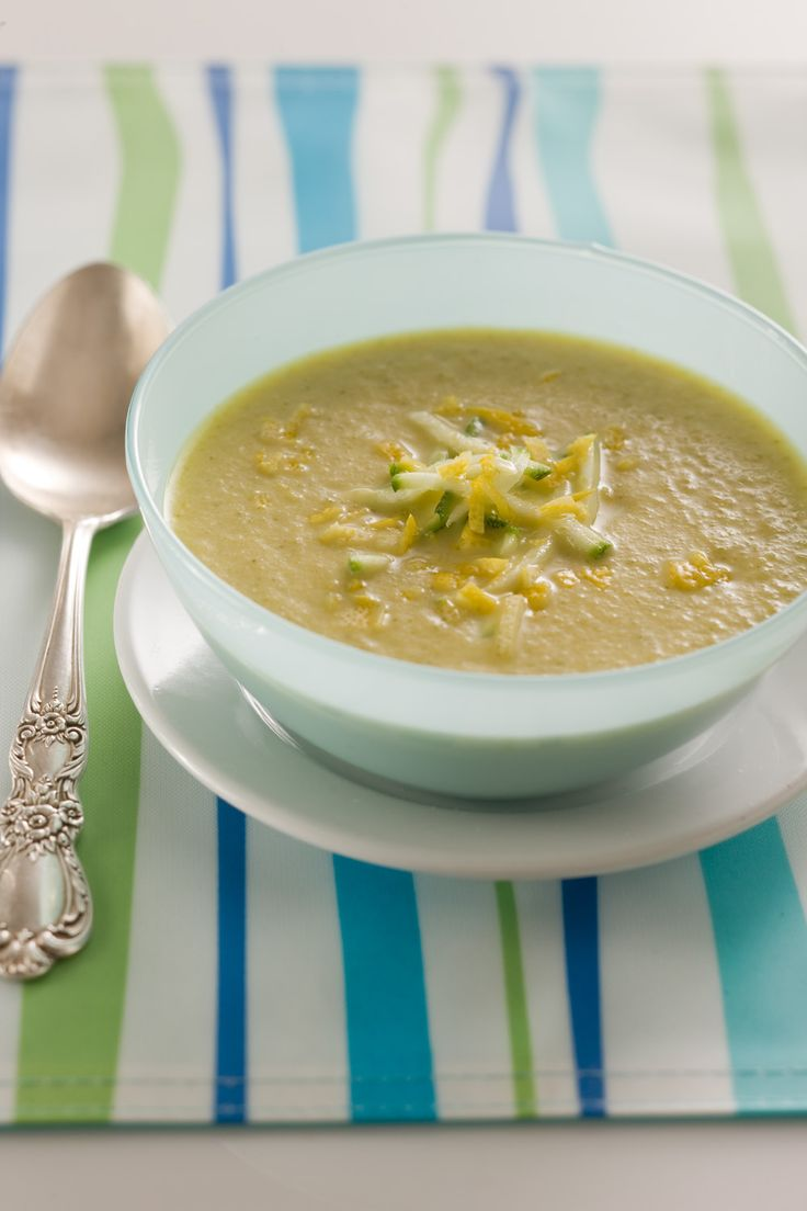Cream of Zucchini Soup. Sounds Yummy and easy. Two of my favorite ...
