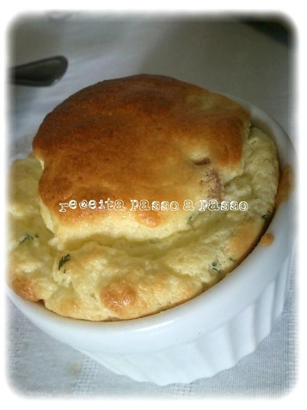 Cauliflower souffle  step by step