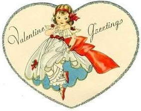 valentines greetings to all friends