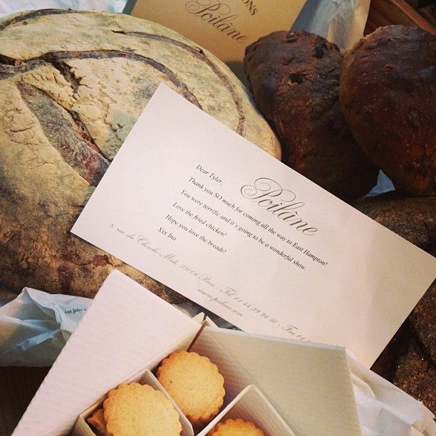... bread and punition cookies to Tyler Florence @Poilâne Page Officielle