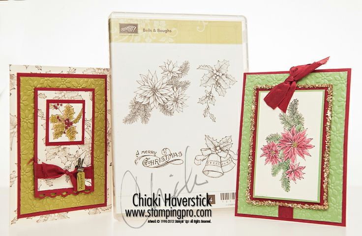Bells and boughs bells and boughs stampin up pinterest