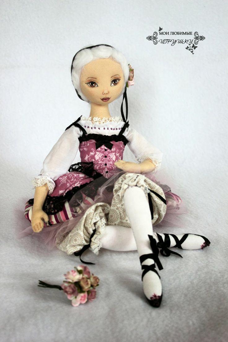 Мои любимые игрушки. Авторские текстильные куклы Анны Балябиной: Этель