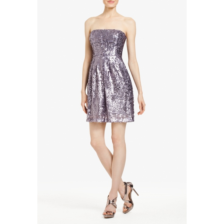 Carole sequined cocktail dress